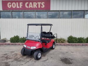 2018 EZGO RXV ELECTRIC 48 VOLT FLAME RED